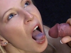 Barney bangs with young blonde Ilse
