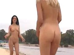 Naked erotic teens at beach