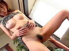 Sensual beauty Yui Sarina is tasting that small dick