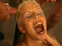 Insane cum-swallowing compilation video