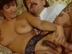 Old school fuck and cumshots