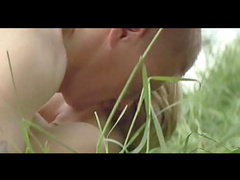 Young teen fuck in grass