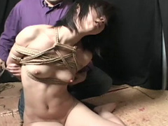 Shibari with young Japanese girl