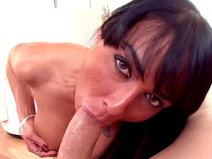 Sensual Mahina Zaltana gets cum in her mouth