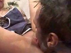 Sandra Parker Gets Slammed By 3 Men