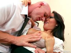 Office sex with slut Asa Akira