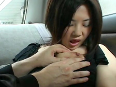 Collared and bound Japanese girl submits