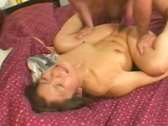 Asian fucked in the young wet pussy