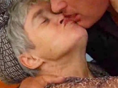 Old lady and anal sex