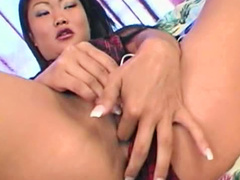 Horny Asian Lucy Lee anal sex