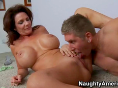 Busty mommy boned from behind