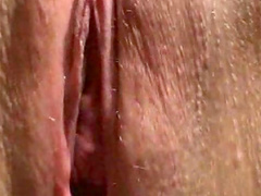 Cum inside her shaved box