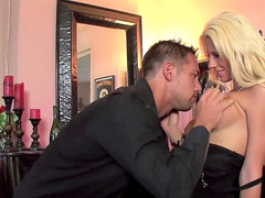 Johnny Castle is penetrating blonde Tanya James