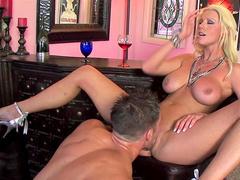 Johnny Castle is penetrating blonde Tanya James