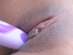 Thalia Mata is poking her tight pussy