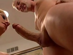 Sweet Blondie Riding Meat