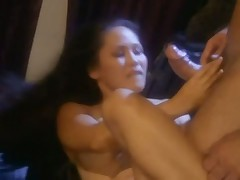 Cumshot slow motion scene