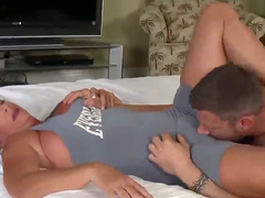 Leg lock for lucky man