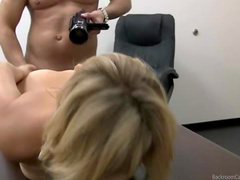 Casting room sex from behind