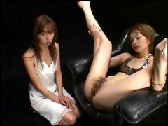 Petite Japanese babe is getting a load of sperm in her mouth