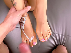 Asa Akira foot fetish focused fuck