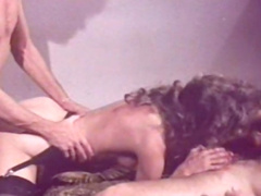 Sweetie being fucked by two hard poles