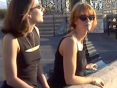 Women enjoy public show