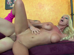 Ralph Long is fucking with spicy blonde Tanya James