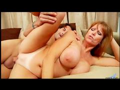Busty milf redhead loves sex