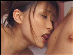 Sweet babes craves to get that cum in her mouth