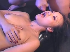 Kinky Asian wants cock in a sex swing