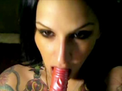 Regan Reese gets dildo in her mouth