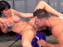 Eva Karera fuck with cocky Johnny Castle