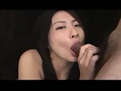 Tight Asian chick pleases dicks