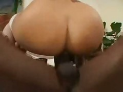 Mayara oilded up and fucked