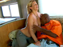 Black sex in the RV