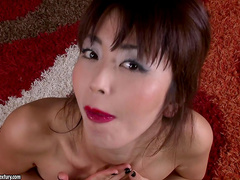 Asian pornstar Marica Hase enjoys anal doggy style fuck
