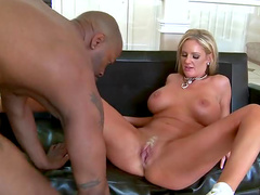 Milf and black man fuck