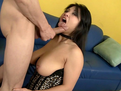 Asian brunette Alexis Lee fucks in anal