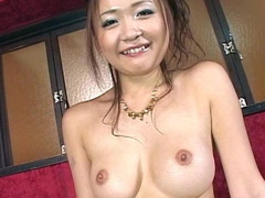 Japanese brunette babe Haruka Kaeda is fucked hard