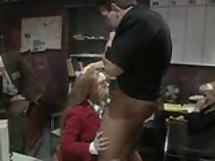 Kiki Daire needs some dick at the office!