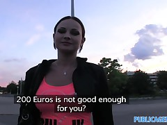 PublicAgent Real life pornstar lets me record sex on webcam