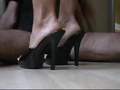 Cockmassage with Darksome Mules