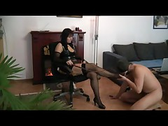 foot slaves training