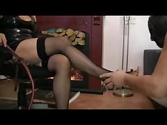 foot slaves training