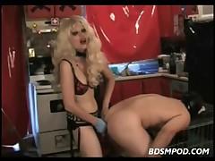 Femdom Starla Copulates Her Sissy Boyfrend In the Butt