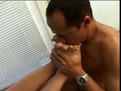 Oral Stimulation & foot fetish
