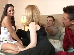 Nina Hartley & Stephanie Swift exchange partners