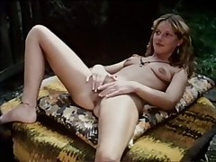 Vintage sluts with hairy cunts in a full length porno