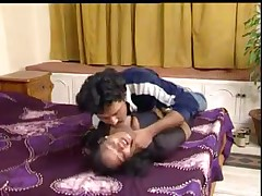 Indian plumper gets fucked by her mustached lover